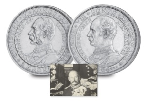 9 king frederick viii of denmark3 - Nine Kings in one room, nine great European currencies…