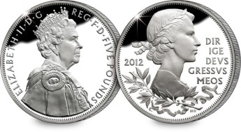 United Kingdom 2012 £5 Diamond Jubilee