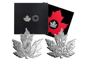 canadian leaf coin and box - The talk of the 2015 World's Fair of Money…