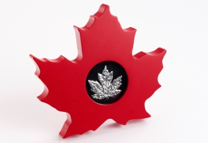 leaf display - The talk of the 2015 World's Fair of Money…