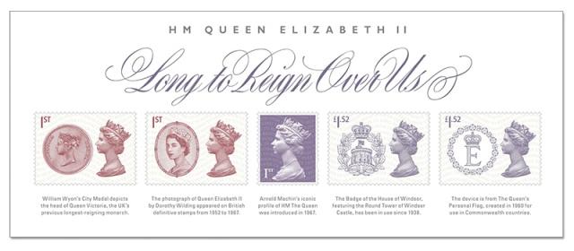 Great Britain longest Reigning Monarch Miniature Sheet
