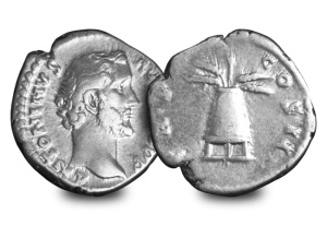 antoninus pius - The coins behind 6 of the greatest Roman Emperors