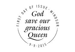 Longest Reigning Monarch Postmark - Windsor