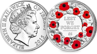 st 2015 poppy jersey cuni c2a35 for c2a35 coin both sides - How the Poppy Coin has raised over £450,000 for The Royal British Legion