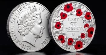 £5 for £5 2015 Poppy Coin