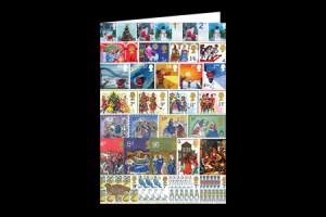 christmas card - 50th Royal Mail Christmas Issue released