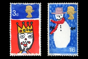 christmas stamps1 - 50th Royal Mail Christmas Issue released