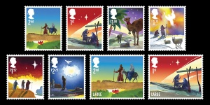 christmas stamps2 - 50th Royal Mail Christmas Issue released
