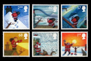 christmas stamps31 - 50th Royal Mail Christmas Issue released