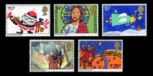 christmas stamps4 - 50th Royal Mail Christmas Issue released