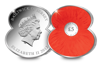 poppy1 - Discover the world's 10 most oddly shaped coins...
