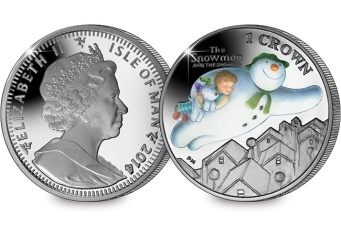 st snowman and snowdog christmas coin web images - Christmas on Coins – Five Festive Stories…