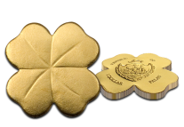 clover coin flat1 - Discover the world's 10 most oddly shaped coins...