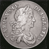 charles ii crown - The history of the British crown coin...