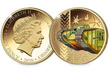 Mark I Tank Coin