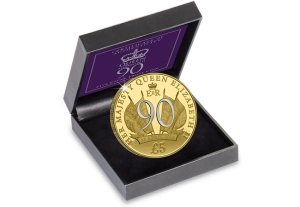 queen elizabeth ii 90th birthday coin - New coin issued to celebrate Queen Elizabeth II's 90th Birthday