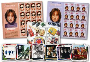 976j john lennon pack 1 - What do John Lennon and Stamp Collecting have in common?