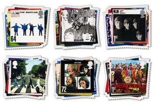 John Lennon also appeared on a number of stamps himself