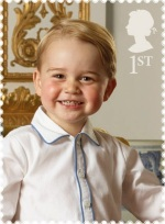 Prince George on the NEW GB 1st Class Stamp