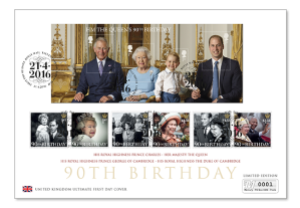 imagegen - Prince George to appear on a British Stamp for the first time