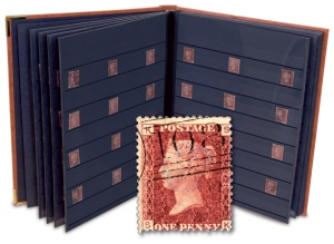 penny red collection - The Penny Stamp sold for £495,000