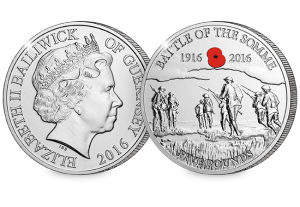 The Battle of the Somme £5 Coin