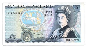 eccleston c2a35 banknote e1468938416549 - Precious paper - the first and last £5 paper banknote...