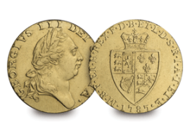 the 1787 gold guinea