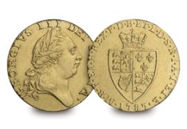the 1787 gold guinea