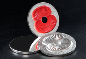 From blank to finished coin - striking the Masterpiece Poppy Coin