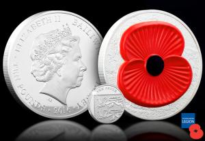 The 2016 Masterpiece Silver 5oz Poppy Coin