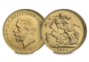 bicentenary sovereign collection 1925 sovereign coin - 200 years of the Sovereign. Part V: The End of the Sovereign...