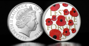 st rbl 2016 poppy cuni proof coin blog image - The story behind the official 2016 'Lest We Forget' Poppy Coin