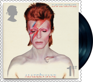 aladdin sane - FIRST LOOK: New David Bowie Stamps just announced...