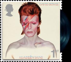 david bowie aladdin sane 1st class stamp