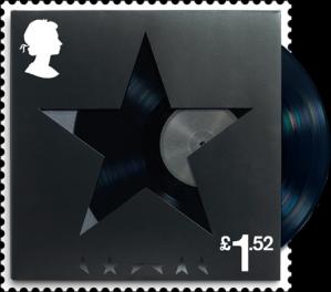 david bowie blackstar stamp