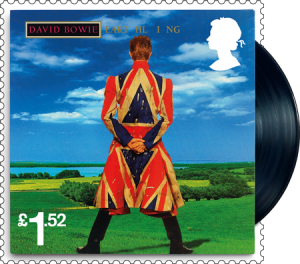 david bowie earthling stamp