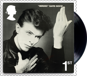david bowie heroes 1st class stamp