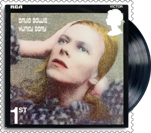 david bowie hunky dory stamp