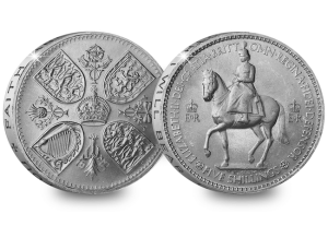 jubilee crown coins coronation - The history of Her Majesty's Jubilee crown coins...