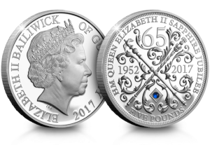 sapphire jubilee cuni proof coin - The history of Her Majesty's Jubilee crown coins...