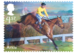 horse racing stamp arkle