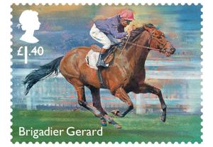 horse racing stamp brigadier gerard