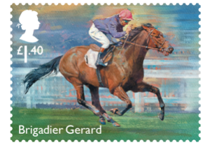 brigadier gerard - New Royal Mail Stamps to celebrate 'Sport of Kings'...