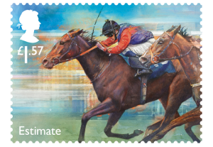 horse racing stamp estimate