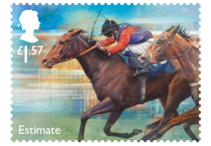 estimate - New Royal Mail Stamps to celebrate 'Sport of Kings'...