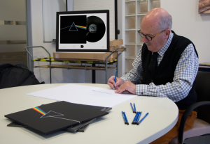 george signing - Pink Floyd's 'The Dark Side of the Moon': The Story behind the design
