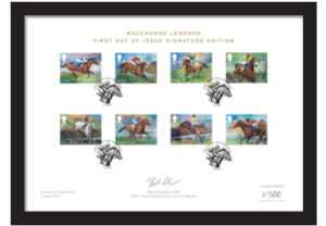 horse a4 framed new - New Royal Mail Stamps to celebrate 'Sport of Kings'...