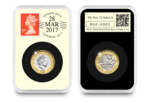 hw datestamp 2017 sided c2a31 in everslab 28 march - The New 12-Sided £1 Coin Collector Editions