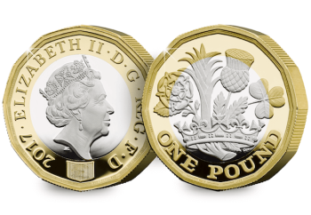 The new 12-sided £1 Coin Silver Proof Edition